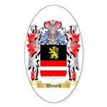 Weinrib Sticker (Oval 50 pk)