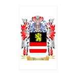 Weinrebe Sticker (Rectangle 10 pk)