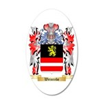 Weinrebe 20x12 Oval Wall Decal