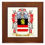 Weinrebe Framed Tile