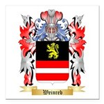 Weinreb Square Car Magnet 3