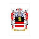 Weinreb Sticker (Rectangle 50 pk)