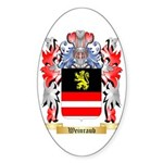 Weinraub Sticker (Oval 50 pk)