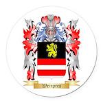 Weinpres Round Car Magnet