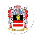 Weinmann Round Car Magnet