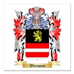 Weinman Square Car Magnet 3