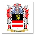 Weinlager Square Car Magnet 3