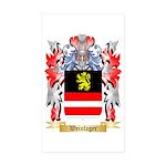 Weinlager Sticker (Rectangle 10 pk)