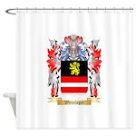 Weinlager Shower Curtain