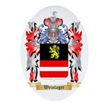 Weinlager Oval Ornament