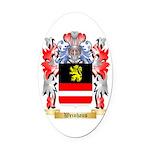 Weinhaus Oval Car Magnet