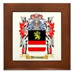 Weinhaus Framed Tile
