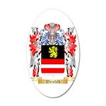 Weinfeld 35x21 Oval Wall Decal
