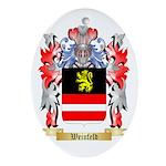 Weinfeld Oval Ornament