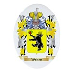 Weinert Oval Ornament