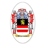 Weinermann Sticker (Oval 50 pk)