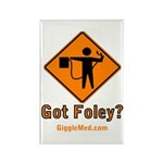 Foley Flagger Sign Rectangle Magnet (10 pack)