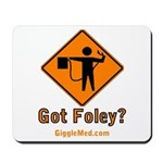 Foley Flagger Sign Mousepad