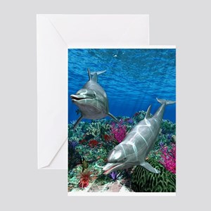 oceanworld_368_V_F Greeting Cards