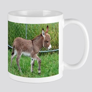 Miniature Donkey Foal Stainless Steel Travel Mugs