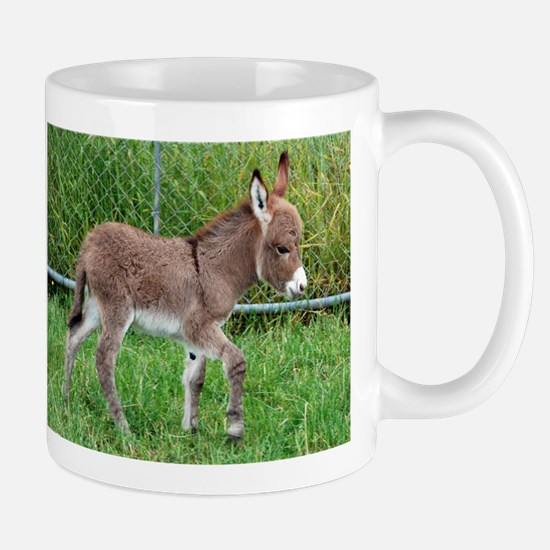 Miniature Donkey Foal Stainless Steel Travel Mugs