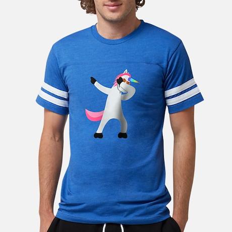 Emoji Unicorn Dab Men's Football Shirt