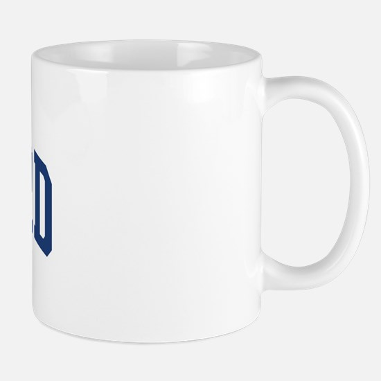 RADFORD design (blue) Mug