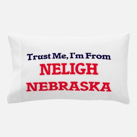 Trust Me, I'm from Neligh Nebraska Pillow Case