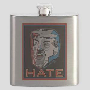 Hate Trump Flask