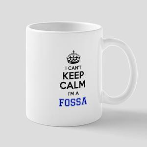 I can't keep calm Im FOSSA Mugs