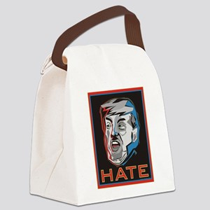 Hate Trump Canvas Lunch Bag