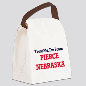 Trust Me, I'm from Pierce Nebrask Canvas Lunch Bag