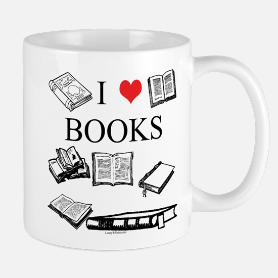 I (heart) Books Mug