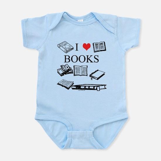 I (heart) Books Infant Bodysuit