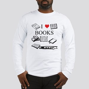 I (heart) Books Long Sleeve T-Shirt