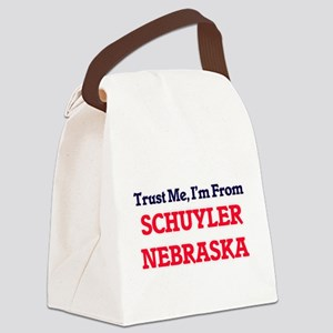 Trust Me, I'm from Schuyler Nebra Canvas Lunch Bag