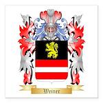 Weiner Square Car Magnet 3