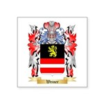 Weiner Square Sticker 3