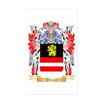 Weiner Sticker (Rectangle 50 pk)