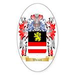 Weiner Sticker (Oval 50 pk)