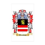 Weinblum Sticker (Rectangle 50 pk)