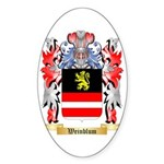 Weinblum Sticker (Oval)