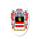 Weinblot 35x21 Oval Wall Decal