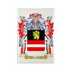Weinblatt Rectangle Magnet (100 pack)