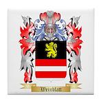 Weinblatt Tile Coaster