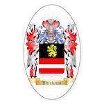 Weinbaum Sticker (Oval)