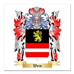Wein Square Car Magnet 3