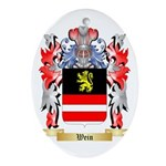 Wein Oval Ornament