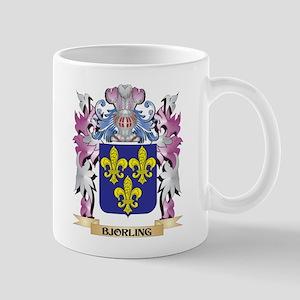 Bjorling Coat of Arms (Family Crest) Mugs