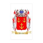 Weiller Sticker (Rectangle 10 pk)